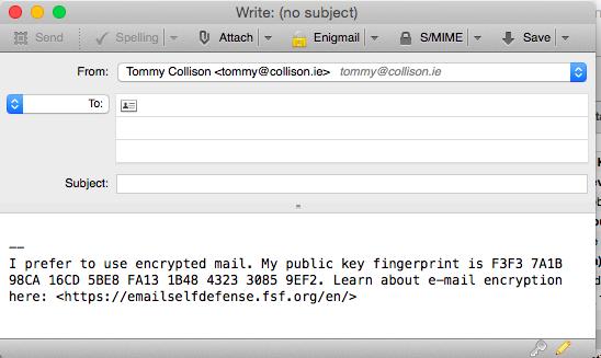 (E-mail client: Mozilla Thunderbird for Mac.)